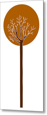 Tree Metal Print by Frank Tschakert
