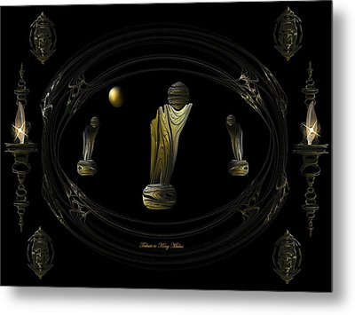 Tribute To King Midas Metal Print by Ricky Kendall