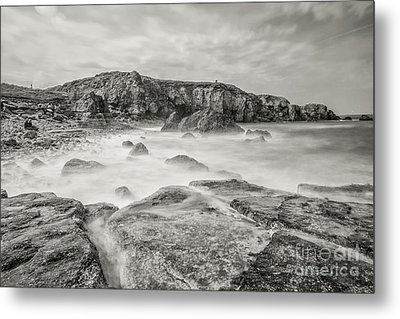 Trow Rocks From Graham Sands Metal Print by Andy Blakey