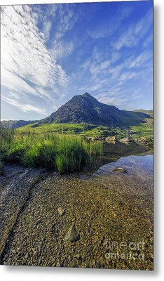 Metal Print featuring the photograph Tryfan Mountain by Ian Mitchell