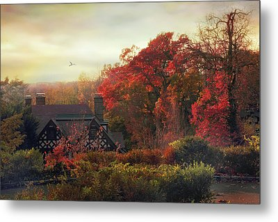 Tudor In Autumn Metal Print by Jessica Jenney