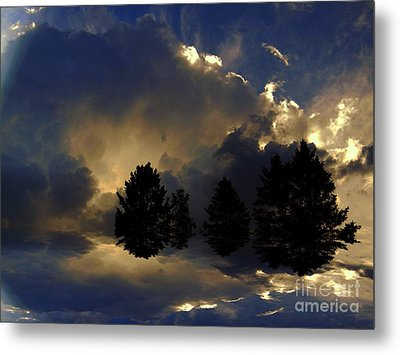 Tumultuous Metal Print by Elfriede Fulda