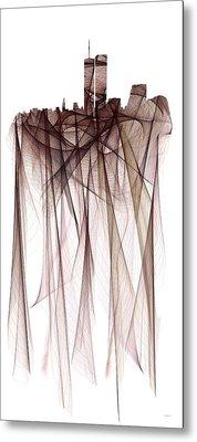Twin Towers Metal Print by Marlene Watson