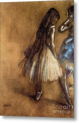 Two Dancers Metal Print