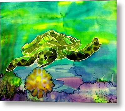 Under The Sea Metal Print by Beverly Johnson