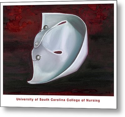 University Of South Carolina College Of Nursing Metal Print by Marlyn Boyd