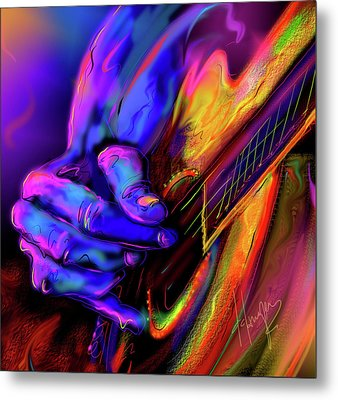 Unplugged Metal Print by DC Langer
