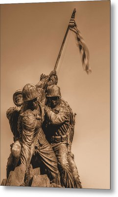 Usmc Metal Print by JC Findley