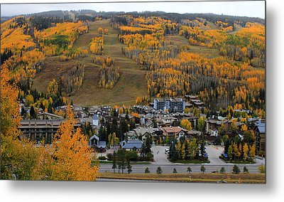 Vail Colorado Metal Print