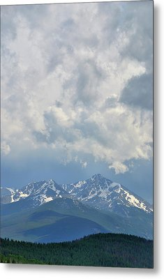Metal Print featuring the photograph Vail Colorado Series 2 by Steven Richman