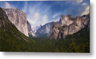 Metal Print featuring the photograph Valley View by Lana Trussell