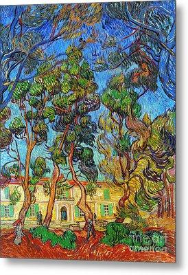 Van Gogh: Hospital, 1889 Metal Print by Granger