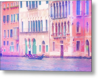 Venice Italy Metal Print by George Robinson