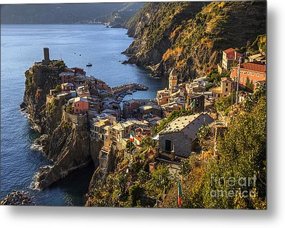 Metal Print featuring the photograph Vernazza by Spencer Baugh