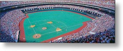Veteran Stadium, Phyllis V. Astros Metal Print by Panoramic Images
