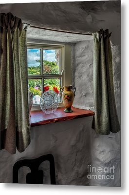 Victorian Window  Metal Print by Adrian Evans