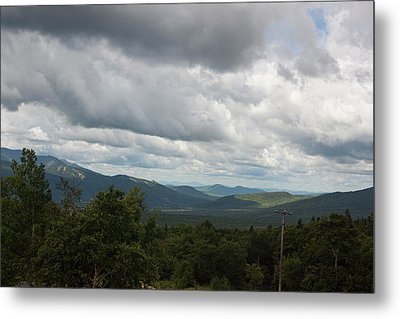View From Mount Washington Metal Print by Suzanne Gaff
