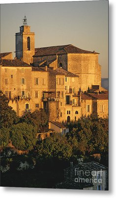 Village De Gordes. Vaucluse. France. Europe Metal Print by Bernard Jaubert