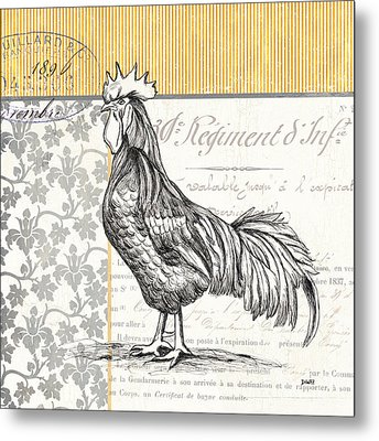 Vintage Farm 1 Metal Print by Debbie DeWitt