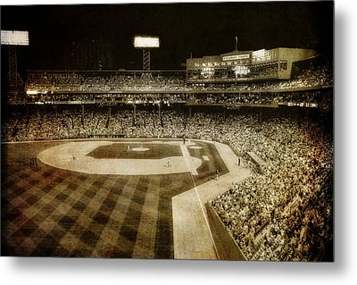 Vintage Fenway Park - Boston Metal Print