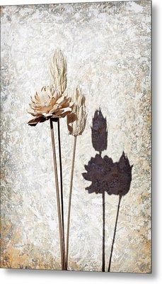 Vintage Floral 1 Metal Print by Al Hurley