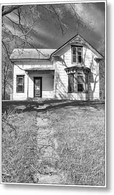 Visiting The Old Homestead Metal Print by Guy Whiteley