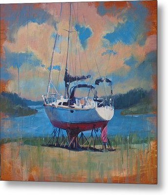 Waiting For The Weekend Metal Print by Donna Shortt