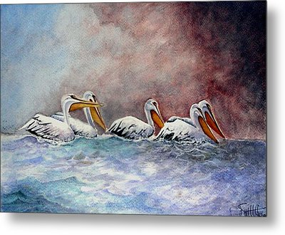 Waiting Out The Storm Metal Print by Jimmy Smith