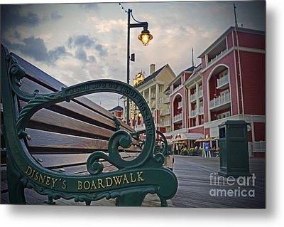 Walt Disney World - Boardwalk Villas  Metal Print