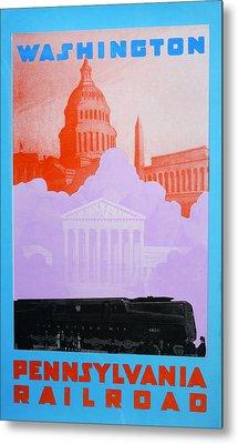 Washington Dc Vi Metal Print by David Studwell