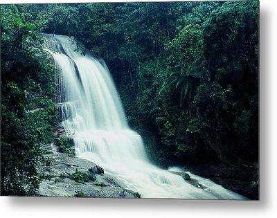Waterfall Metal Print by Amarildo Correa