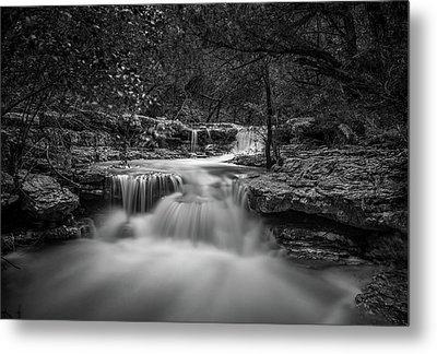 Waterfall In Austin Texas Metal Print