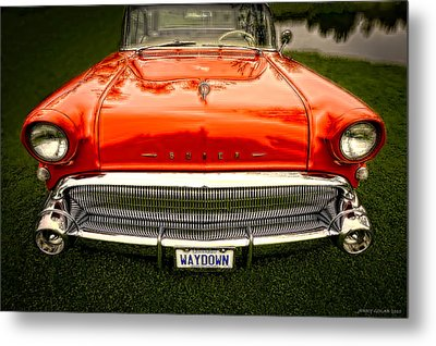 Waydown Metal Print by Jerry Golab