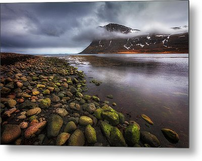 West Fjords Metal Print by Dominique Dubied