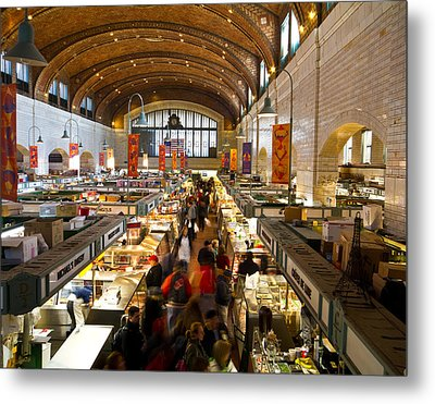 West Side Market  Metal Print by Tim Fitzwater