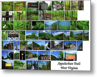 West Virginia Appalachian Trail Metal Print by Raymond Salani III