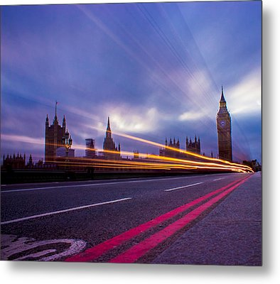 Westminster Bridge Metal Print by Martin Newman
