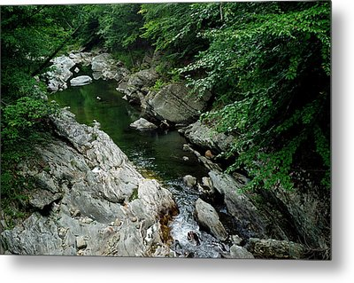 White River Metal Print by Bill Morgenstern