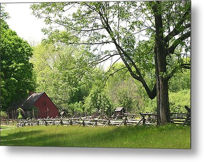 Wick Farm At Jockey Hollow Metal Print