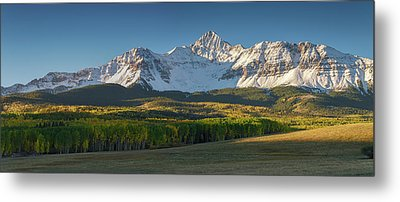 Metal Print featuring the photograph Wilson Peak Panorama by Aaron Spong