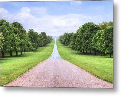 Windsor Castle - Long Walk Metal Print