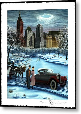 Winter Wonderland Metal Print by Tracy Dennison