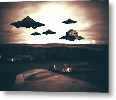 Wwii What If Metal Print by Raphael Terra