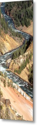 Yellowstone River, Yellowstone National Metal Print by Panoramic Images