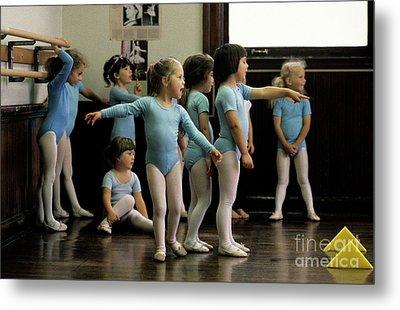 Young Ballet Dancers  Metal Print