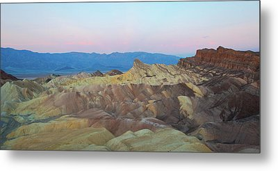 Metal Print featuring the photograph Zabriskie Point by Catherine Lau