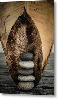 Zen Stones II Metal Print