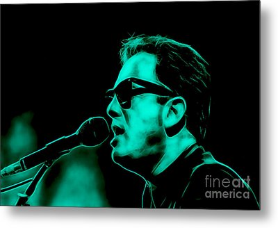 Billy Joel Collection Metal Print