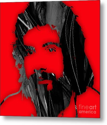 Cat Stevens Collection Metal Print by Marvin Blaine
