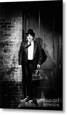 Charlie Chaplin Metal Print by Oleksiy Maksymenko